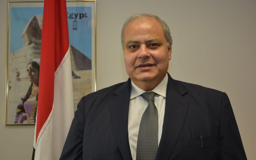 خالد رزق  سفير جمهورية مصر العربية القنصل العام في هيوستن